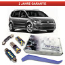VW Touran LED Innenraumbeleuchtung Premium Set 15 SMD Weiß Canbus 1T3 1T1 5T1