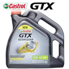 Olio Motore 10w40 4 litri per diesel e benzina CASTROL GTX semi-sintetico A3/B4