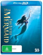 The Little Mermaid (Walt Disney) 3D Blu-ray Region B Brand New!
