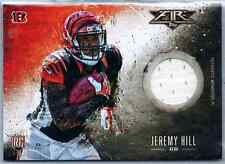 2014 Topps Fire Football Jeremy Hill Rookie Jersey Relic RC Bengals