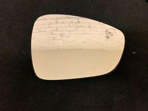 Original CITROEN C3 C5 Ds5 PEUGEOT 508 Mirror Glass Heated Blind Spot RIGHT