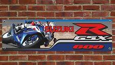 BR108 SUZUKI GSXR600 K9 2009 BANNER WORKSHOP SIGN GSXR