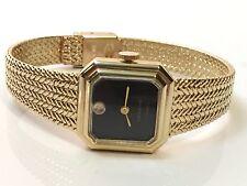 Vintage Geneve  Elegant Gold Tone Ladies Mechanical Windup Wrist Watch(G17SJ)