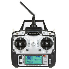 Flysky FS-T6 2.4GHz 6CH Mode 2 Transmitter with Receiver R6-B for RC Multirotor