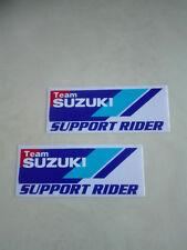 Aufkleber Sticker 2er Set Team Suzuki Autotuning Motorsport Biker Motorrad Race