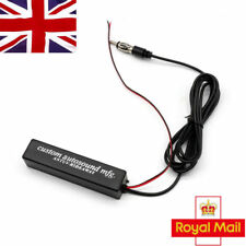Electronic Auto Car Stereo Aerial AM FM Radio Hidden Hide Amplified Antenna UK