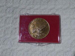 NASA Apollo 11 1969 Commemorative Bronze Medal Coin Token