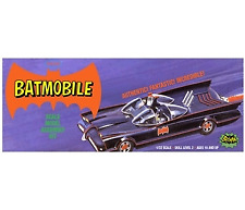 Batman Batmobile Inc Resina Batman y Robin 1:32 Escala Modelo Kit Polar Lights
