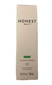 Honest Beauty Clearing Cleanser Acne Treatment 0.5% Salicylic Acid 4.73oz *7/21