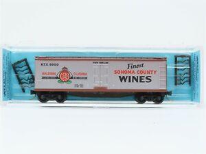 N Scale Micro-Trains MTL Kadee KTX Sonoma Wines 40' Wood Reefer #6000