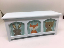 1:12th hecho a mano escala Miniatura Casa De Muñecas Muebles Guardería Manta Caja/juguete.