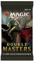Magic: The Gathering Double Masters Draft Booster Pack | 15 Magic Cards | 2 Rare