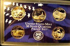 2006  Set  Of  Washington State Quarters Proof  Dp. cam No Box Or COA Five Coins