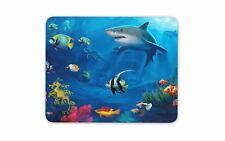 Mundo Submarino Mouse Pad Mat-tiburón nadador Buceo Coral Computadora Pc Regalo #8080