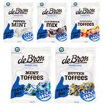 33,09€/kg - DE BRON sugar Free Toffee Mix   (5er Mix Set zuckerfrei!)