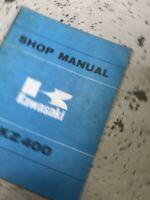 1974 1975 1976 1977 Kawasaki KZ400 KZ 400 Series Service Repair Shop Manual OEM