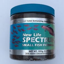 New Life Spectrum Small Fish Formula .5mm Sinking Pellets Color Enhancing 4.23oz