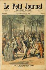 CENTENAIRE MODE 1794 XVIII SIECLE VETEMENTS COSTUMES 1894 ILLUSTRATION
