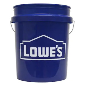 5 Gallon All Purpose Bucket Commercial Storage Durable Plastic Pail