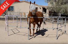 Free Shipping Fully Assembled 10x10 Portable Horse Corral w/ Built-In Electric