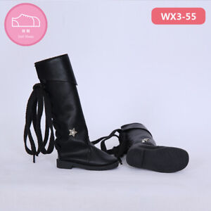 New Black Boots Shoes For 1/3 BJD Doll SD Doll  WX3-55