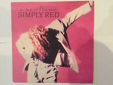 Simply Red AUTOGRAPHED 12'' vinyl LP-A new flame-see photo Signing proof