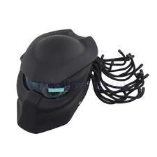 Motorcycle Helmet Full Open Face Predators Helmet Mask ABS W/LED  iron man