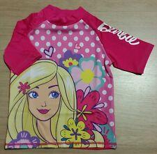 *NEW* Girls Genuine Barbie Swim Rashie Rash Vest Size 2-3