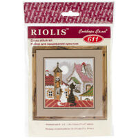 "Counted Cross Stitch Kit RIOLIS 1863 /""Southern Cortyard/"""
