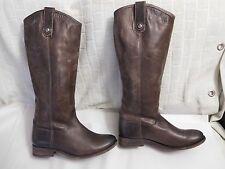 Frye 'Melissa Button' Leather Riding Boot (Women) Sz 6 B