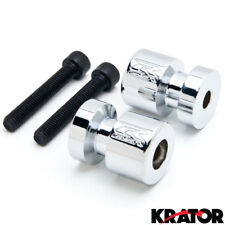 Chrome Swingarm Spools Slider Motorcycle For Honda CBR 1000RR 2004-2011