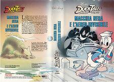 DUCK TALES - MACCHIA NERA E L'AEREO INVISIBILE (1987) VHS