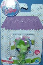 Littlest Pet Shop Get the Pets 'Vinnie Terrio' Bright Green Gecko #3057