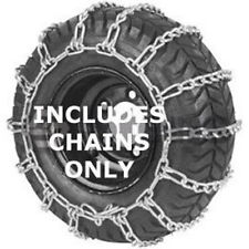 20X10X8 Tire Chains, 2 Link Spacing Cross Chains