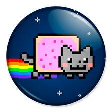 "Nyan Cat 25mm 1"" Pin Badge Button Geek Pop Art YouTube Meme"