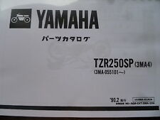 YAMAHA TZR 250 3MA 250 SP PARTS LIST MANUAL CATALOGUE RD 350 500.