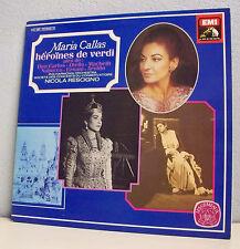 "2x 33T MARIA CALLAS LP 12"" HEROINES VERDI Operettes CARLOS OTELLO MACBETH AROLDO"
