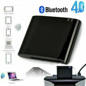 Bluetooth A2DP Music Receiver Audio Adapter for iPod iPhone 30Pin Dock Speaker *