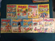 Magic Comic No.7 56  59  64  70  92  97  114  129  1976 - 1978