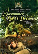 A Midsummer Night's Dream (1968 Judi Dench, Helen Mirren) Region Free DVD -new