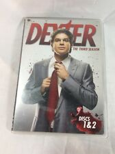 Dexter  Third Season (DVD, 2009) JUST DISC 1 & 2