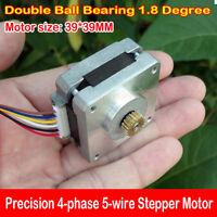 39BYG 4-phase 5-wire Precision Stepper Motor Double Ball Bearing 1.8° hybrid DIY