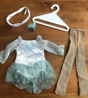 American Girl Doll: Mia's Silver Skate Dress (2008 Girl of the Year -- Archived)