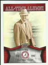 Lot of 2012 Upper Deck University of Alabama Football Cards - You Pick