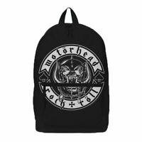 Motorhead Rock N Roll Laptop Backpack - School Uni Bag