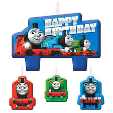 THOMAS THE TANK ENGINE All Aboard Friends MINI CANDLE SET (4) ~ Birthday Party