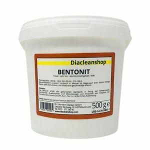 Bentonit Pulver sehr fein Pharmaqualität 500g