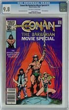 Conan The Barbarian Movie Special #1 (1982) CGC 9.8 NM/MT Newsstand Edition