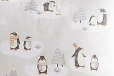 Pottery Barn Kids Winter Penguin Cotton Percale Organic Standard Sham