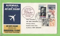U.S.A. 1965 Air New Zealand DC-8 Flight cover, Pago Pago to Auckland
